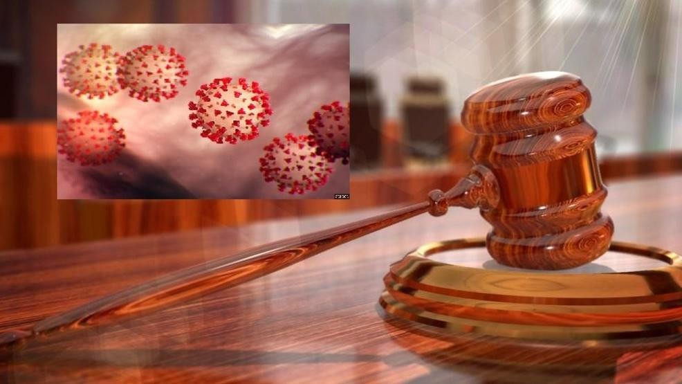 Image result for courts and coronavirus